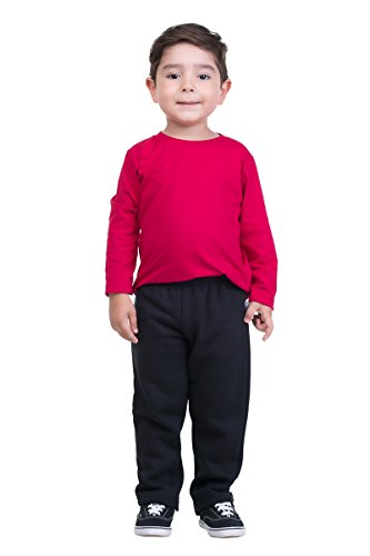 pulla-bulla-toddler-boy-sweatpants-jogger-athletic-pants-size-3t-black