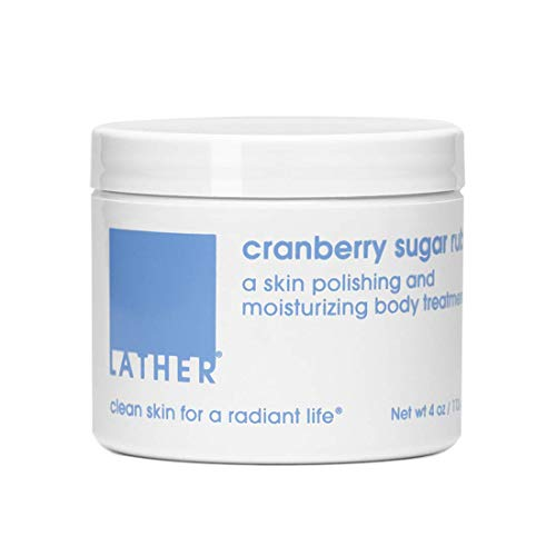 LATHER Cranberry Sugar Rub 4oz