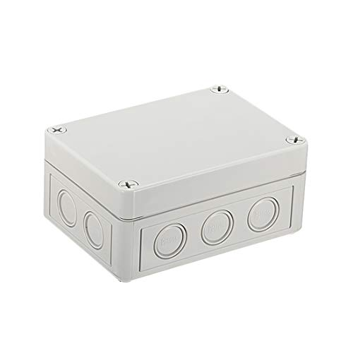 uxcell 130mmx94mmx61mm(5.1''x3.7''x2.4'') ABS Junction Box Universal Electric Project Enclosure by uxcell