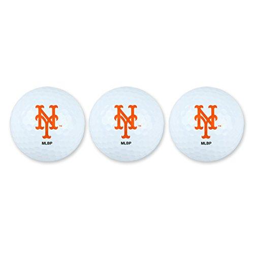 Team Effort MLB New York Mets Golf Ball Pack of 3Golf Ball Pack of 3, NA ()