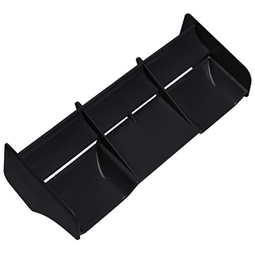 Hobbypark RC Car 1:8 1:10 Off Road Buggy Wing Body Spoiler High Down Force (Black, 1/8 Scale)