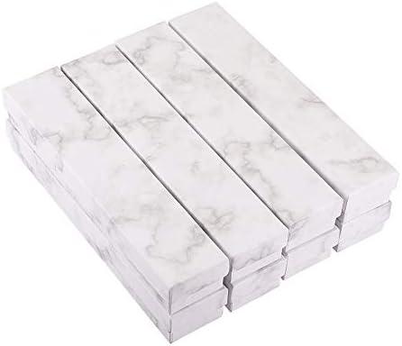 Amazon.com: BENECREAT Caja rectangular de cartón Kraft para ...