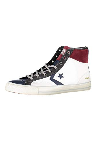 Unisex Leather Hi Player Rojo Zapatillas Abotinadas Adulto Azul Blanco Star Converse pwTxtqRSYn