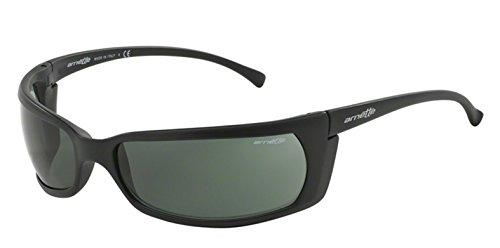Non-Polarized Sunglasses For Men Arnette Slide AN4007 01 66mm Sport Matte ()