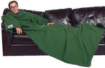 Coperta Con Maniche Slanket.Slanket Verde Closet Angolo Con Maniche 241 X 152 Cm