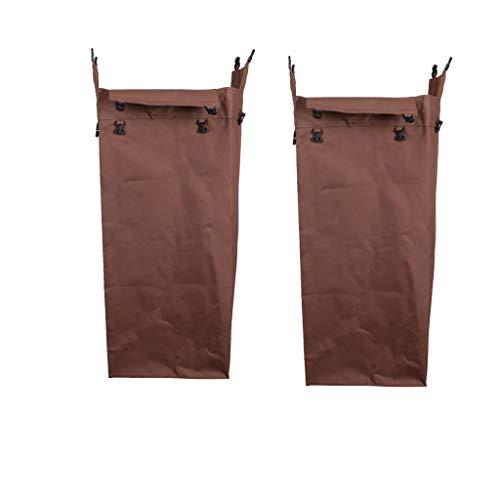 2点セット 清掃カート用 交換袋 クリーニングカートバッグ オックスフォード生地 防水仕様