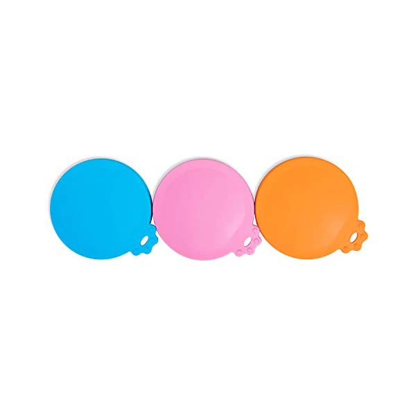 SACRONS-Can Covers/3 Pack/Universal Silicone Food Can Lid Cover for Pet Food/Fits Most Standard Size Dog and Cat Can Tops