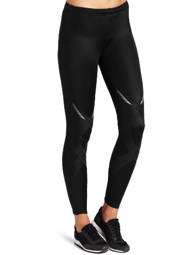 CW-X Women's Stabilyx Tights, Black, Medium