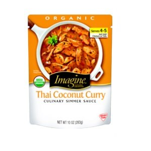 Imagine Foods Organic Thai Coconut Curry Culinary Simmer Sauce, 10 Ounce - 6 per case.
