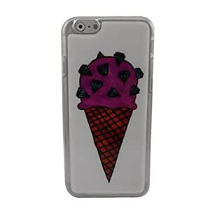 LCJ Beautiful Ice Cream Plastic Hard Back Cover for iPhone 6 Plus by ruishername