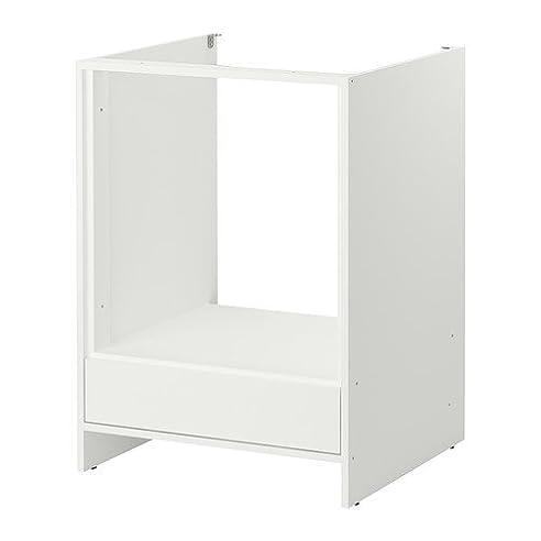 Ikea Fyndig -Unterschrank Für Backofen Weiß/ Grau 63X60X86 Cm