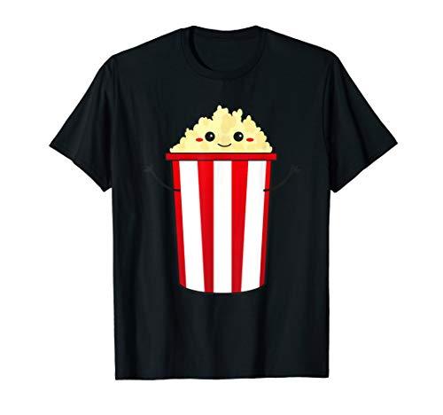 - Popcorn Cinema T-Shirt - cute and kawaii Gourmet Popcorn