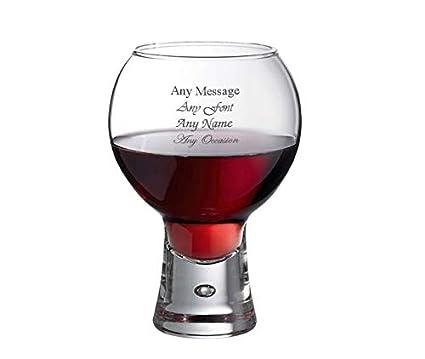 Personalised Engraved 330ml Bubble Base Whisky Tumbler Gift Box Wedding