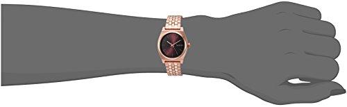 310a0Kzc99L Nixon Women's 'Medium Time Teller' Quartz Stainless Steel Casual Watch, Color:Rose Gold-Toned (Model: A11302617-00)