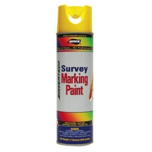 Marking Paint Aervoe (Aervoe 208 Survey Marking Paint, Hi Viz Yellow)