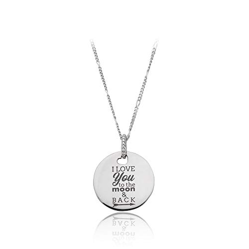 Pandora I Love You To The Moon & Back Necklace