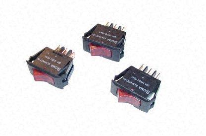 [해외]UltraHeat - 스위치 패널 용 120VAC 대체 조명 스위치/UltraHeat - 120 VAC Replacement Lighted Switches for Switch Panels