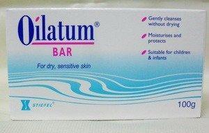 Pack of 6 Oilatum Bar Soap 100 G. Low Price Free Shopping by Oilatum