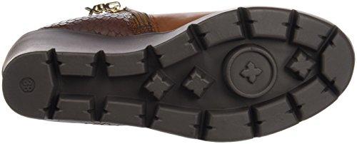 Xti Botin Sra C. 46205, Zapatos De Tacón, Mujer Marrón (Camel)