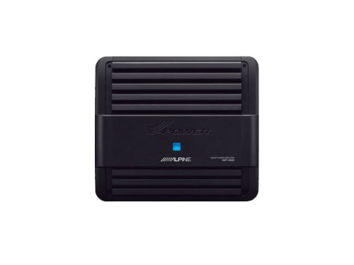 Alpine MRP-M500 - Alpine Monoblock 500 Watt RMS Power Amplifier