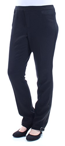 Tommy Hilfiger Women's Tuxedo Trouser Dress Pants (10, (Womens Tuxedo Trousers)