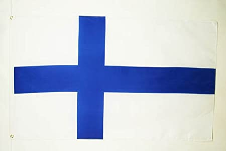 NEW 92 CM X 152 CM . FINLAND 3 X 5 FEET LARGE COUNTRY FLAG BANNER ...