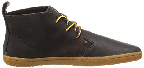 VIVOBAREFOOT Men's Gobi II Classic Desert Boot Walking Shoe, Brown Brown/Hyde