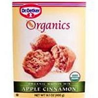 Dr. Oetker Organic Apple Cinnamon Muffin Mix - 12 Boxes (14.1 oz ea)