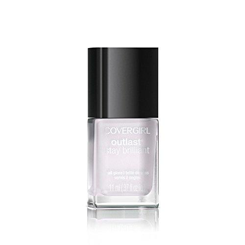 Nails Polish Crystal (COVERGIRL Outlast Stay Brilliant Nail Gloss Crystal Clear 105, .37 oz)