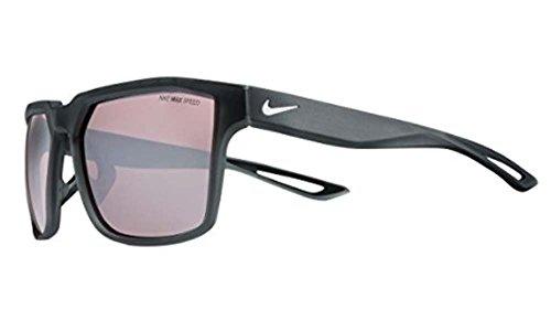 Nike EV0949-011 Bandit R Sunglasses (Frame Speed Tint with ML White Lens), Matte Dark - Nike White Sunglasses