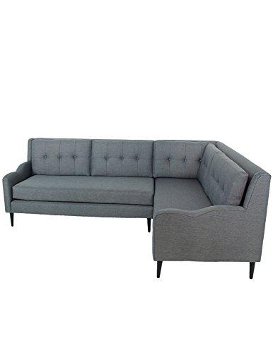 Grey Mid-century Sectional Sofa  sc 1 st  Amazon.com : sectional sofa amazon - Sectionals, Sofas & Couches