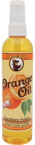 Howard OR0008 Orange Oil Wood Polish, 8-Ounce