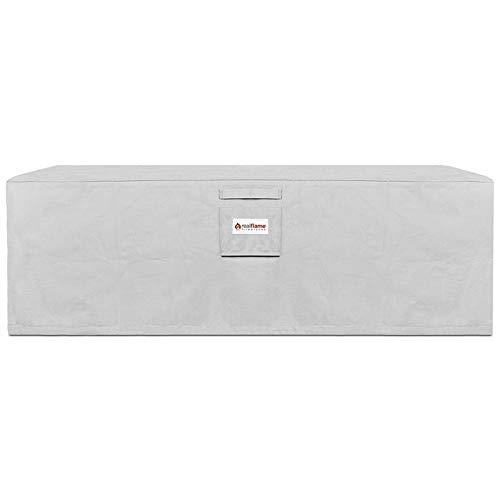 Real Flame A9650 Baltic Rectangle Protective Cover, Light Gray by Real Flame