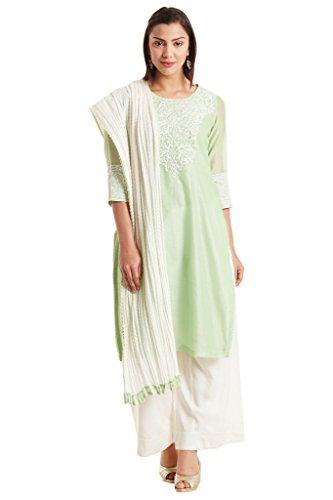BIBA-Womens-Polycotton-Straight-Suit-Set-Mint-Green