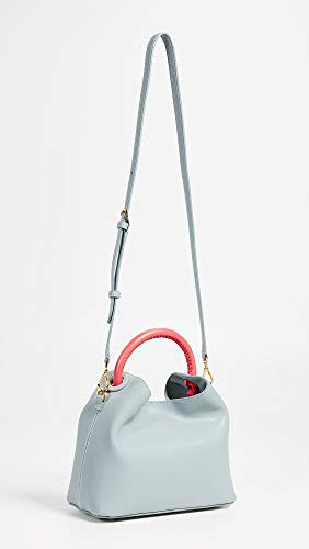 Bag Women's Blue Grey Coral Baozi Elleme xEwgqzx