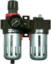 AP2616 - CRL Air Filter Regulator and Lubricator With Gauge