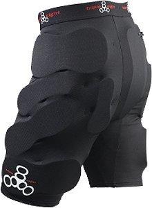 Triple 8 Bumsaver Large Black Skate Pads