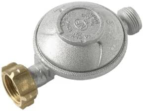 HOME-GAZ - Regulador de Butano con Conexión de Tetina - 1,3 Kg / h - 28 Mbar