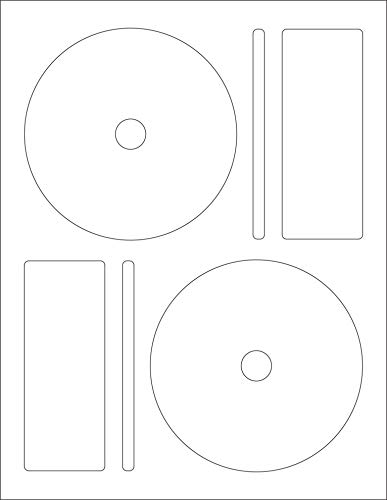 - Memorex CD/DVD Label, 2 Per Page (50 Labels / 25 Sheets)