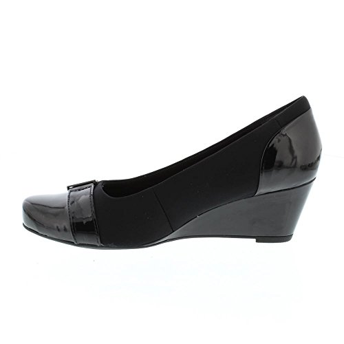 Schuhe 2846 94D Wedge Damen Poppy Black Black Flores Clarks Combi vfx0Uqf
