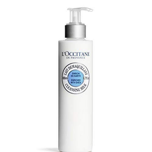 (L'Occitane Face Cleansing Milk Enriched with Shea to Remove Impurities or Make-up, 6.7 fl. oz.)