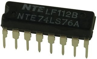 NTE Electronics NTE74LS76A Integrated Circuit TTL-Dual 5-Input Positive NOR Gate, 7V, 14-Lead DIP Package