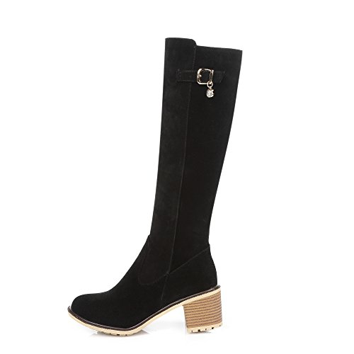 Fashion HeelKnee High Boots - Botas mujer negro