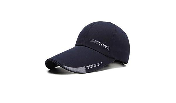 WOFDDH Gorra De Beisbol,Las Mujeres Mens Sports Gorra Ajustable para Peces Unisex Piscina Gorra Visera Larga Brim Sombra Sombrero para El Sol