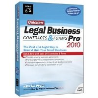 Nolo Press 8044438 Quicken Legal Business Pro 2010 PC So