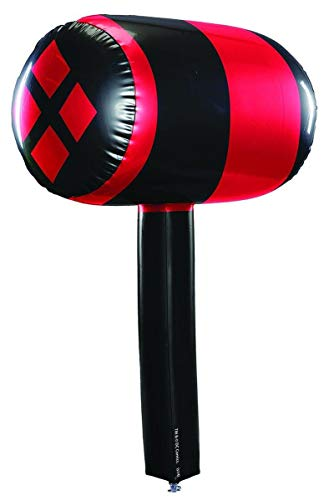 Rubie's Women's Batman Harley Quinn Inflatable Mallet, Multi,
