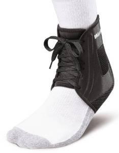Mueller Soccer Ankle Brace, Black, X-large