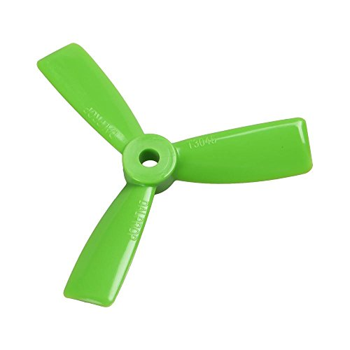 AvatarRC Geniune Dalprop T3045-3 (3×4.5×3) Tri Blade Green Propellers for 250 Size Quadcopters, Drones, and Multi-rotors – Perfect for 210mm to 300mm frames