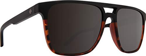 SPY Optic Czar Large Sunglasses (Matte Black/Tort Fade - Polar)