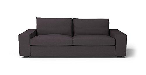 CUSTOM MADE SLIPCOVERS for Kivik Sofa Bed Dark Grey